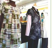 坂本衣料店の商品たち